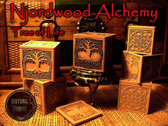 Njordwood Alchemy™: Celtic Tree of Life Coffer Released...